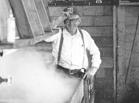 Picture of the founder of Anderson's Maple Syrup - Paul Anderson